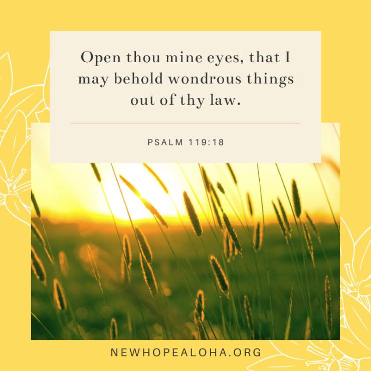 Psalm 119.18